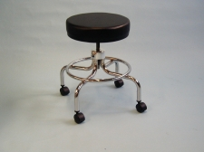 24 inch Revolving Stool with Footrest, clinton stool