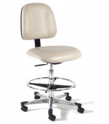 21 Inch D Shaped Seat with Backrest